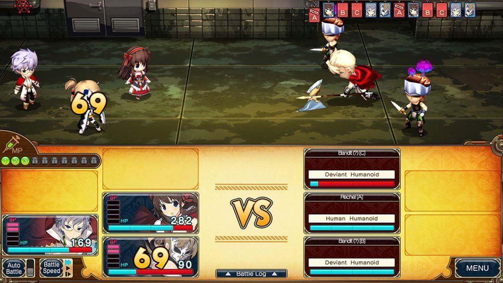 Battle against Rechel from Evenicle 2