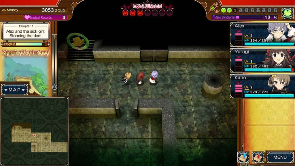 Dungeon crawling in Evenicle 2