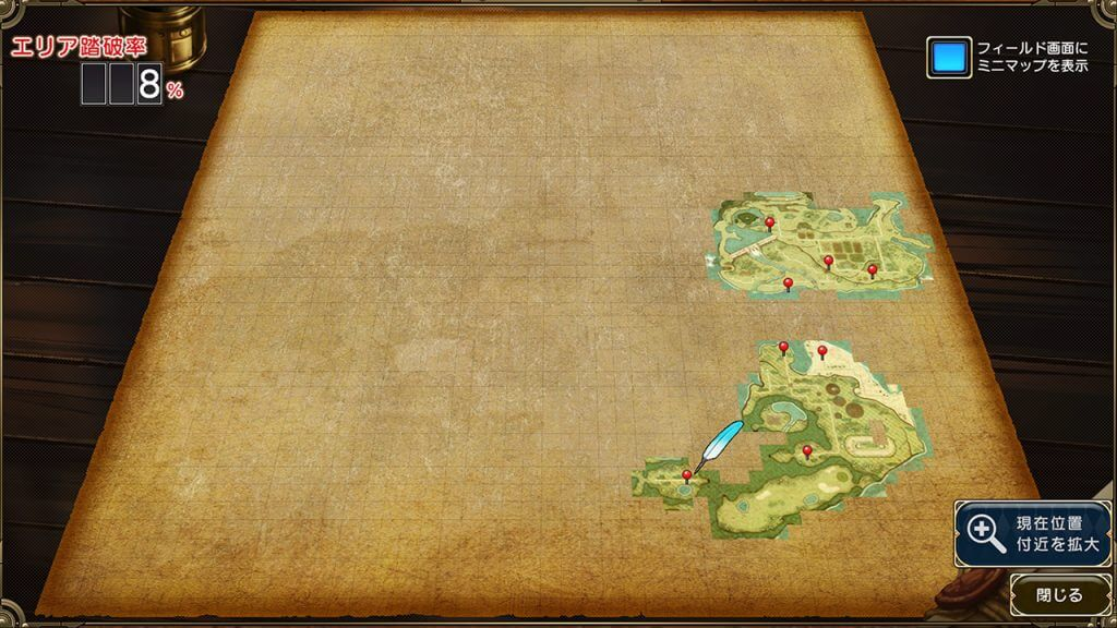 Unfinished World Map of Evenicle 2